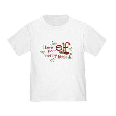 Merry Elf Toddler T-Shirt