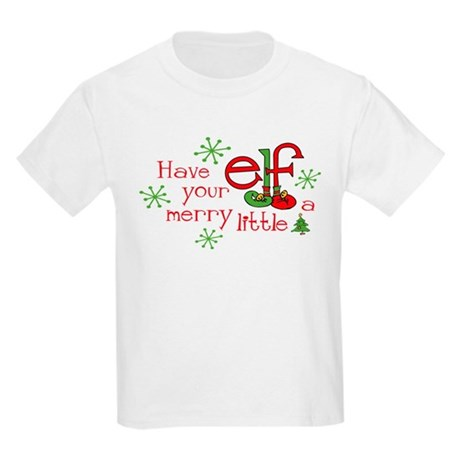 Merry Elf Kids Light T-Shirt