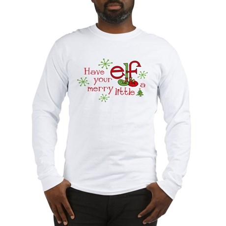 Merry Elf Long Sleeve T-Shirt