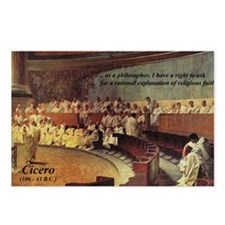 Cicero: Philosophy Religion Postcards (Package of