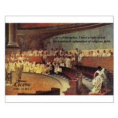 Cicero: Philosophy Religion Small Poster