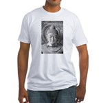 Buddha Buddhism Quote Picture Fitted T-Shirt