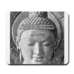 Buddha Buddhism Quote Picture Mousepad
