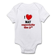 May 3rd Infant Bodysuit