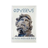 Odysseus Is My Homer-Boy Rectangle Magnet (100 pac