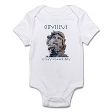 Odysseus Is My Homer-Boy Infant Bodysuit