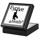 Evolve already Monkey Keepsake Box
