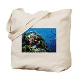 Antheas at Ras Mohammed dive site Egypt Tote Bag