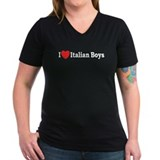 I Love Italian Boys Shirt