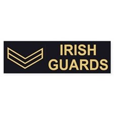 Irish Guards LCpl<BR> Bumpersticker 2