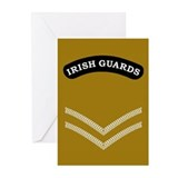 Irish Guards LCpl<BR> Note Cards