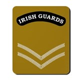 Irish Guards LCpl<BR> Mousepad