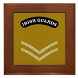 Irish Guards LCpl<BR> Framed Tile
