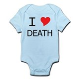 I Heart Death Onesie