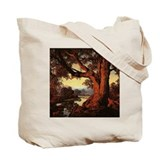 Hilltop and Riverbank Tote Bag