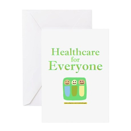 Healthcare for everyone Greeting Card