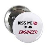 "Kiss Me I'm a ENGINEER 2.25"" Button (10 pack)"