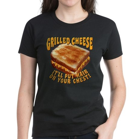 Grilled Cheese Women's Dark T-Shirt