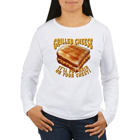 Grilled Cheese Women's Long Sleeve T-Shirt