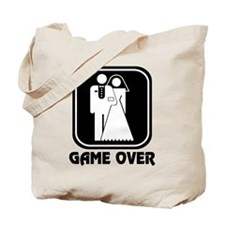 Wedding Icon: Game Over Tote Bag