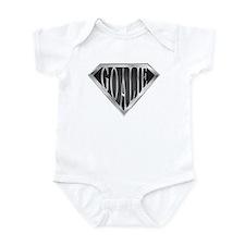 SuperGoalie(metal) Infant Bodysuit