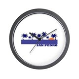 San Pedro, Belize Wall Clock