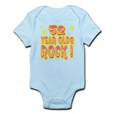 52 Year Olds Rock ! Infant Bodysuit
