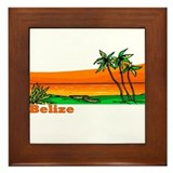 Belize Framed Tile