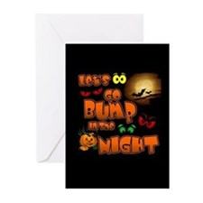 Let's Go Bump in the Night Greeting Cards (Pk of 1