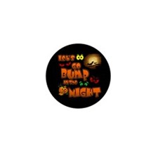 Let's Go Bump in the Night Mini Button