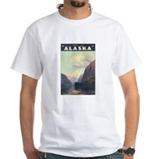Vintage 1930s Alaska Travel Shirt