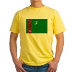 Turkmenistan Yellow T-Shirt