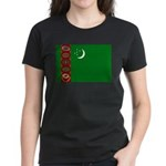 Turkmenistan Women's Dark T-Shirt