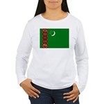 Turkmenistan Women's Long Sleeve T-Shirt