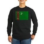 Turkmenistan Long Sleeve Dark T-Shirt