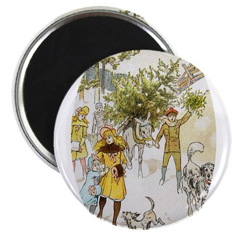 Christmas Tree 2.25&quot; Magnet (10 pack)