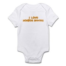 I Love Horror Movies Infant Bodysuit