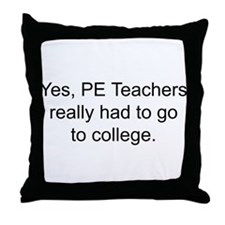 Cool P.e.t.a Throw Pillow