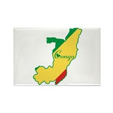 Cool Republic of Congo Rectangle Magnet (10 pack)