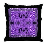 Fractal FS~01 Throw Pillow (18