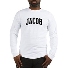 JACOB (curve) Long Sleeve T-Shirt