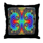 "Fractal FR~16 Throw Pillow (18""x18"")"