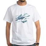 Beluga Whales White T-Shirt