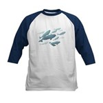 Beluga Whales Kids Baseball Jersey Whale Shirt