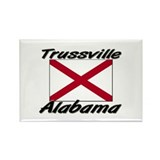Trussville Alabama Rectangle Magnet