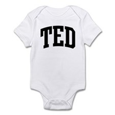 TED (curve) Infant Bodysuit