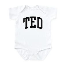 TED (curve) Onesie