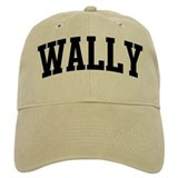 WALLY (curve) Baseball Cap