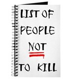 List Of People... Journal