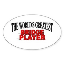 """The World's Greatest Bridge Player"" Decal"